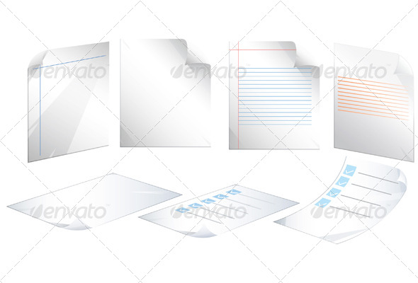 Document Icon - Illustration - Concepts Business