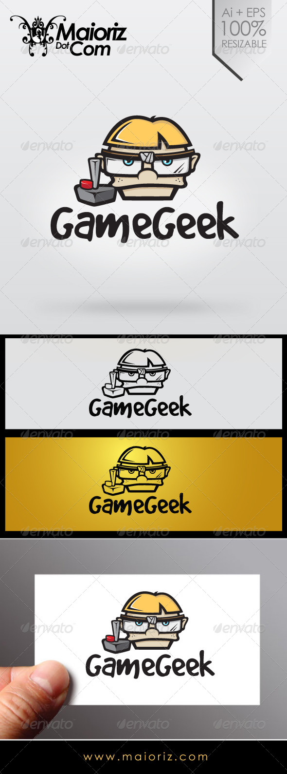 Game Geek Logo - Humans Logo Templates