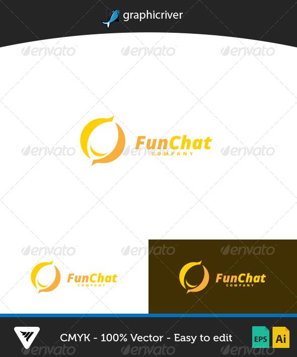 FunChat Logo - Logo Templates