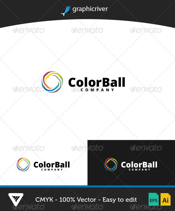 ColorBall Logo - Logo Templates