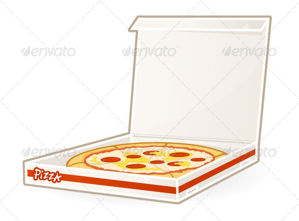 Pizza Delivery - Food Objects