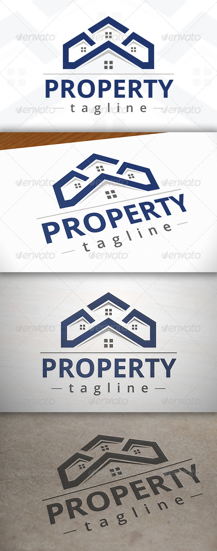 Property Logo - Buildings Logo Templates