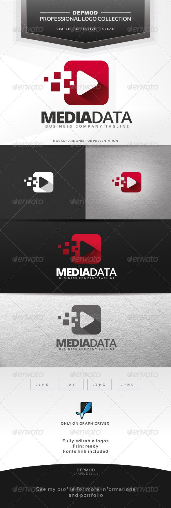 Media Data Logo - Symbols Logo Templates