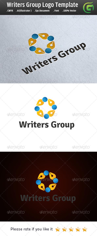 Writers Group - Symbols Logo Templates