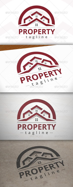 Property Logo Template - Buildings Logo Templates