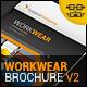 Workwear Catalogue/Brochure V2 - GraphicRiver Item for Sale