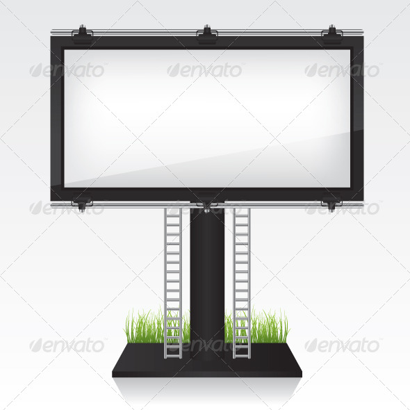 Billboard Illustration - Objects Vectors