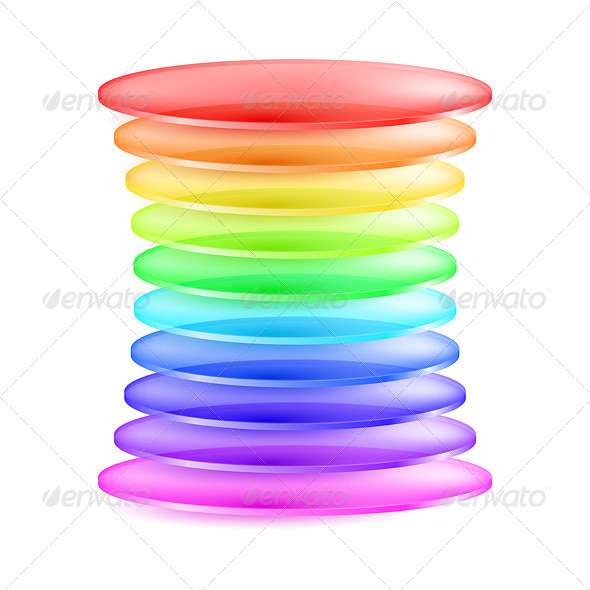 Abstract Colorful Shape - Miscellaneous Vectors