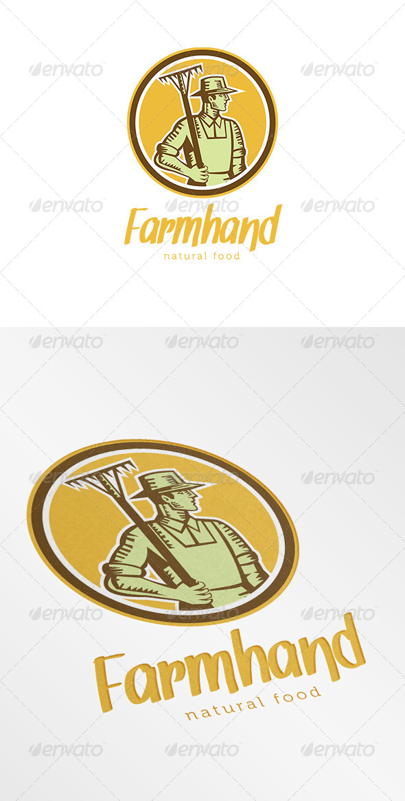 Farmhand Natural Logo - Humans Logo Templates