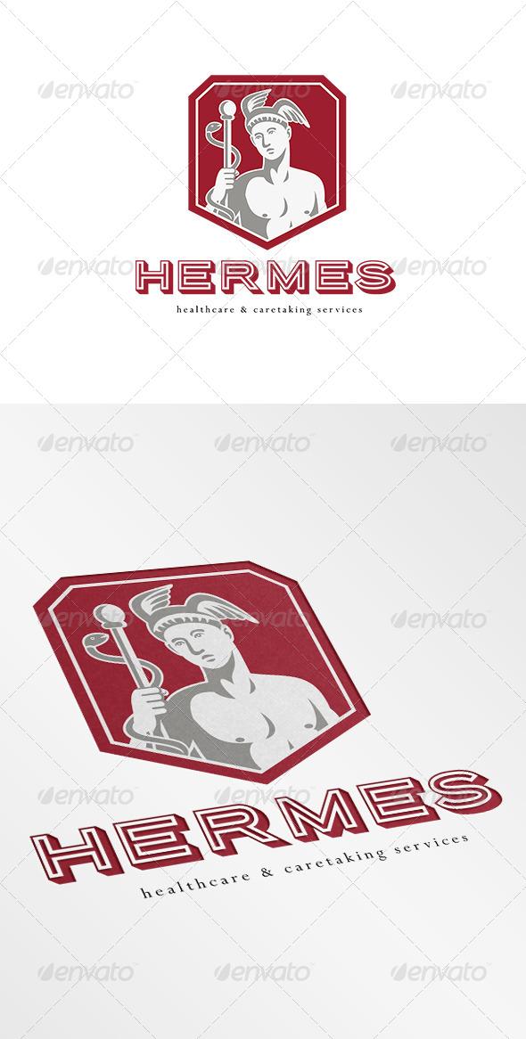 Hermes Healthcare Logo - Symbols Logo Templates