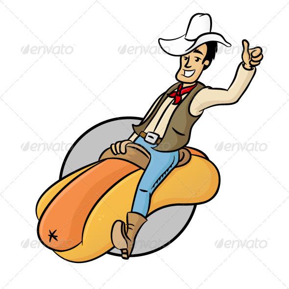 Wiener Cowboy - People Characters