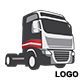 Trucks Transport Company Logo