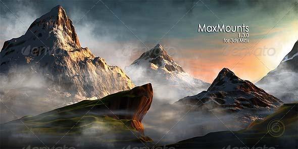 MaxMounts - 3DOcean Item for Sale
