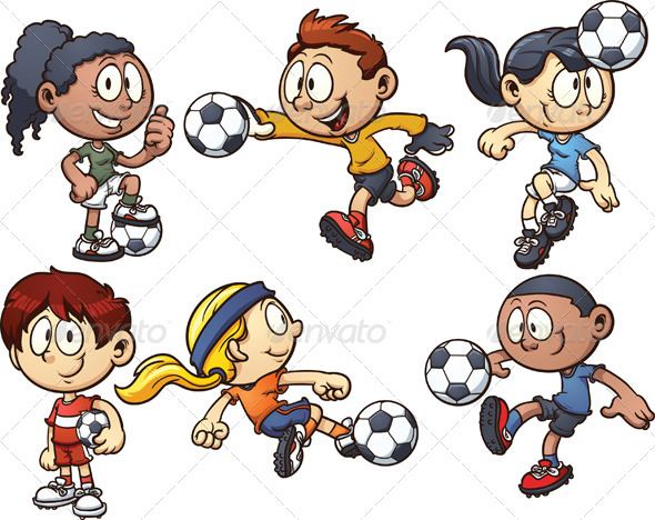 Soccer Kids - People Characters