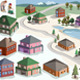 Map of Residential Buildings  - GraphicRiver Item for Sale