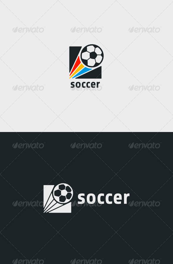 Soccer Logo - Objects Logo Templates
