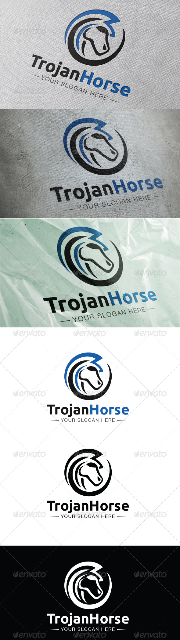Trojan Horse - Animals Logo Templates