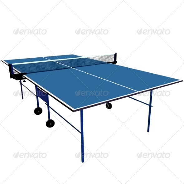 Ping Pong Table - Web Elements Vectors