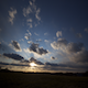 Puffy Cloud Sunset - VideoHive Item for Sale