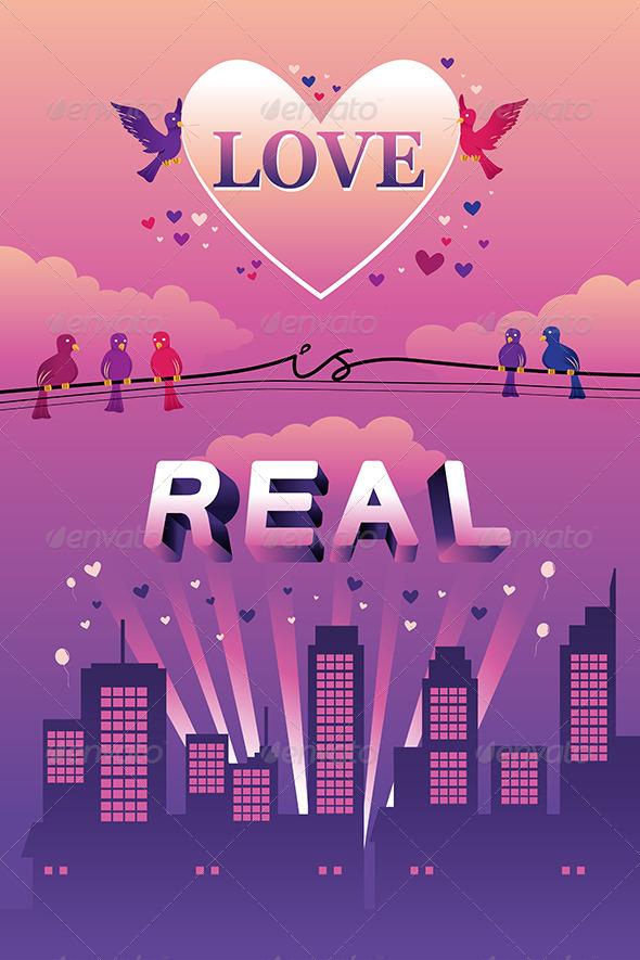Love is Real Design - Decorative Vectors