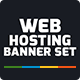Web Hosting Banner Set - GraphicRiver Item for Sale