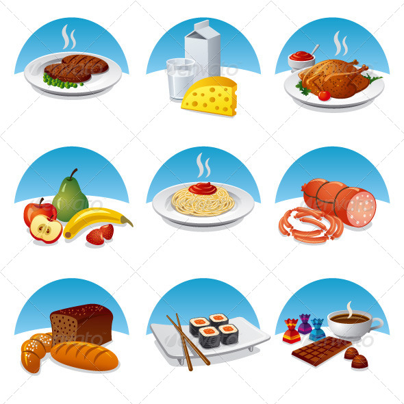 Food Icon Set - Icons