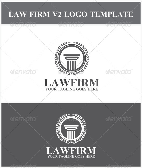 Law Firm V2 Logo - Crests Logo Templates