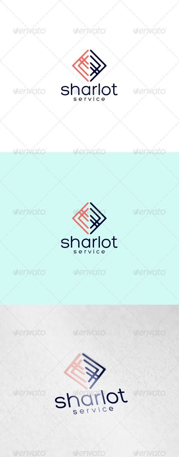 Sharlot Logo - Abstract Logo Templates