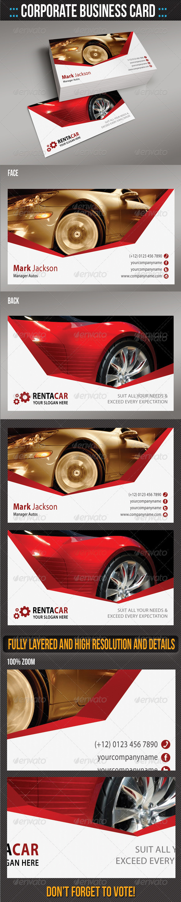 Corporate Business Card 08 - Creative Business Cards