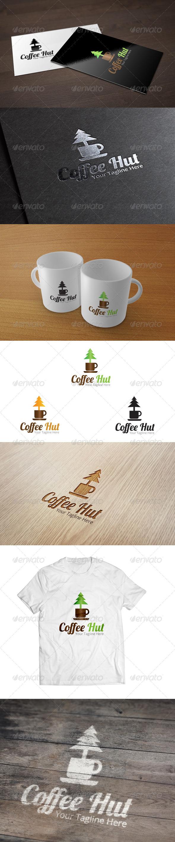Coffee Hut - Logo Template  - Food Logo Templates