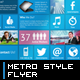 Metro Style Flyers - GraphicRiver Item for Sale