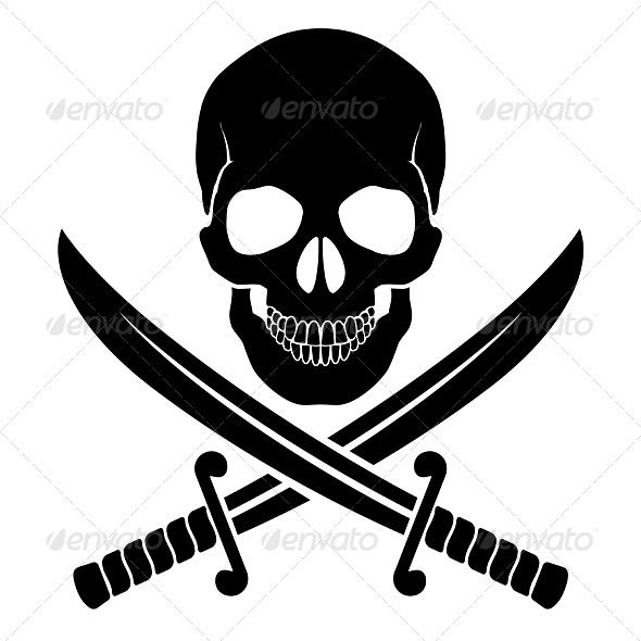 Pirate Symbol - Miscellaneous Vectors