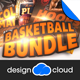 Basketball Flyer Template Bundle