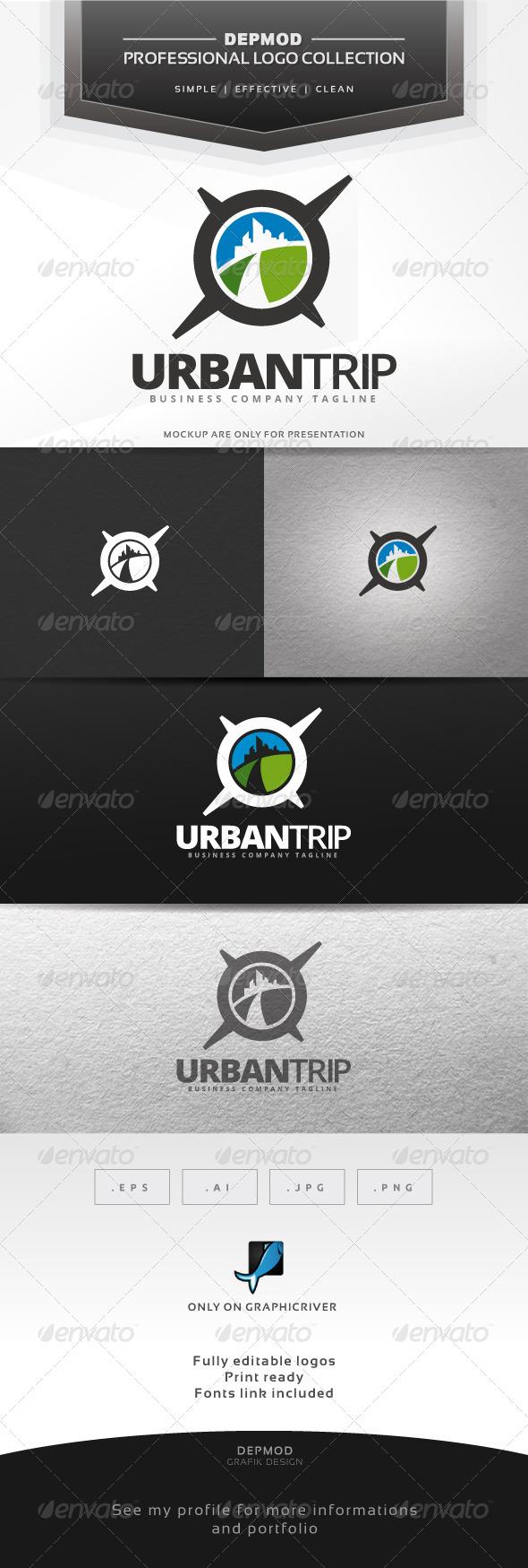 Urban Trip Logo - Symbols Logo Templates