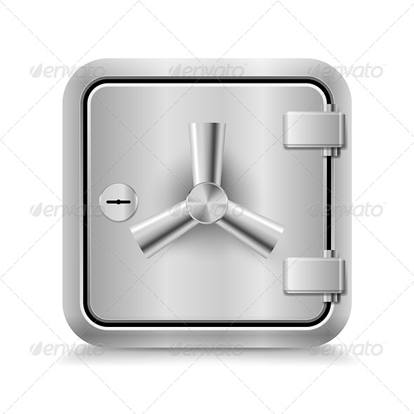 Safe Icon - Miscellaneous Vectors