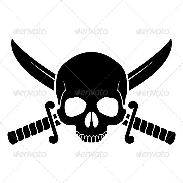 Pirate Symbol - Miscellaneous Vectors