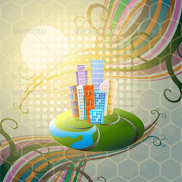The City - Conceptual Vectors