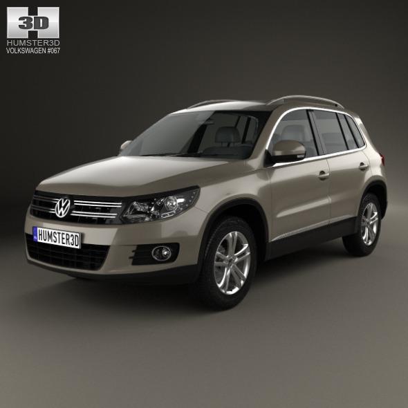 Volkswagen Tiguan Sport & Style 2012