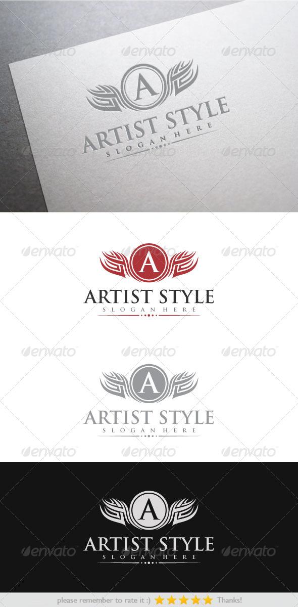 Artist Style - Crests Logo Templates