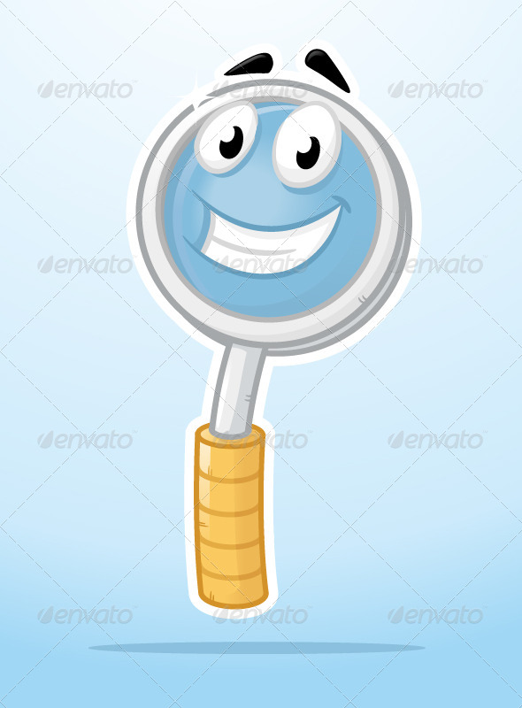 Magnifying Glass - Miscellaneous Characters