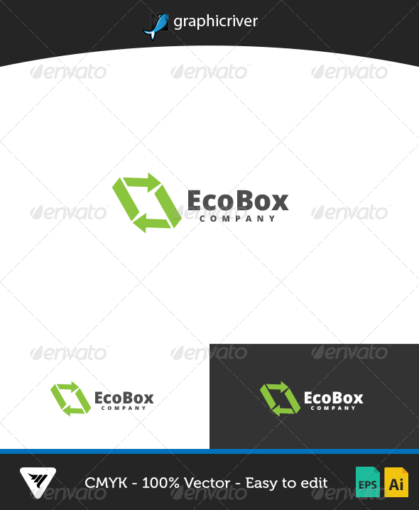 EcoBox Logo - Logo Templates