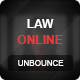 Law Online Unbounce Template Nulled