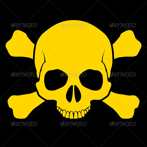 Skull and Cross Bones - Miscellaneous Vectors