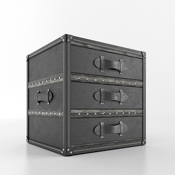 Restoration Hardware Mayfair Cube - 3DOcean Item for Sale