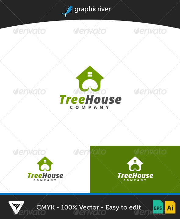TreeHouse Logo - Logo Templates