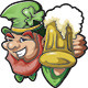Leprechaun Holding Mug - GraphicRiver Item for Sale