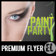 Paint Party - Premium Party Flyer - GraphicRiver Item for Sale