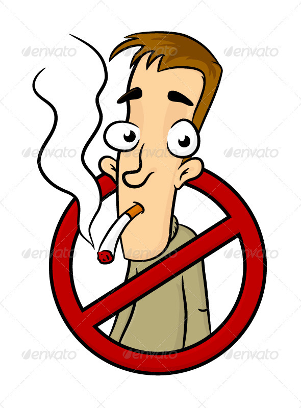 No Smoking - People Characters