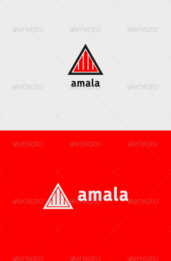 Investment Amala Logo - Vector Abstract