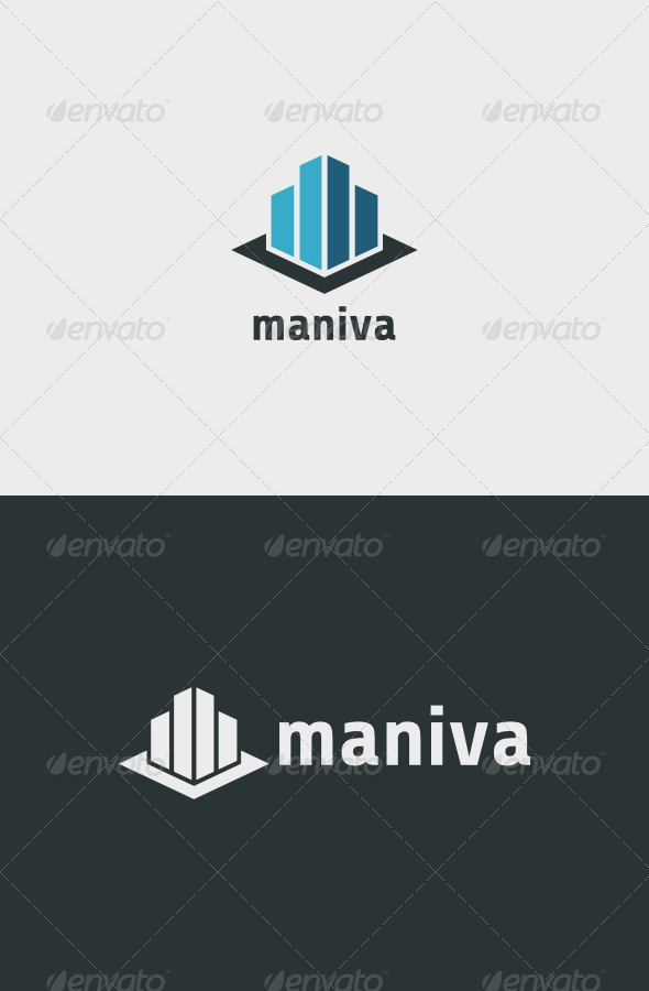 Maniva Logo - Buildings Logo Templates